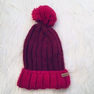 🎈Columbia youth winter pom pom beanie